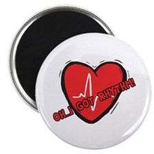 "Cardiac Rhythm 2.25"" Magnet (100 pack)"