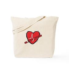 Cardiac Rhythm Tote Bag