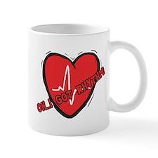 Cardiac Rhythm Small Mug
