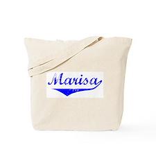 Marisa Vintage (Blue) Tote Bag