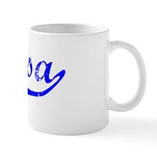 Marisa Vintage (Blue) Coffee Mug
