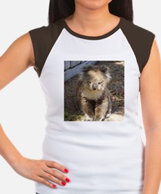 Cute Wild Koala Women's Cap Sleeve T-Shirt