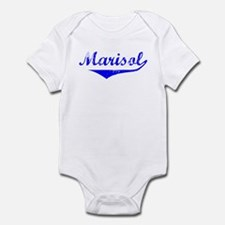 Marisol Vintage (Blue) Infant Bodysuit