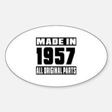Made In 1957 Decal