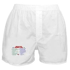 Rescue Dog Property Laws 2 Boxer Shorts