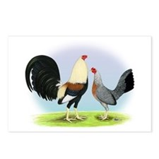 Grey Gamefowl Postcards (Package of 8)