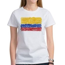 Textual Colombia Tee
