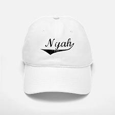 Nyah Vintage (Black) Baseball Baseball Cap