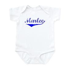 Marlee Vintage (Blue) Infant Bodysuit