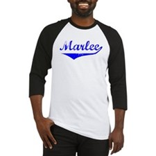 Marlee Vintage (Blue) Baseball Jersey