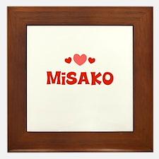 Misako Framed Tile
