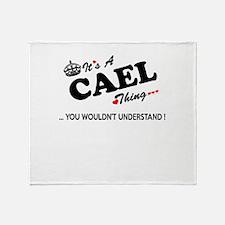 Cute Cael Throw Blanket