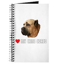 I Love My Cane Corso Journal