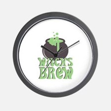 Witchs Brew Wall Clock