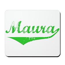 Maura Vintage (Green) Mousepad