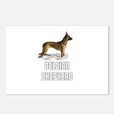 Belgian Shepherd Postcards (Package of 8)