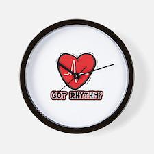 Got Cardiac Rythm? Wall Clock