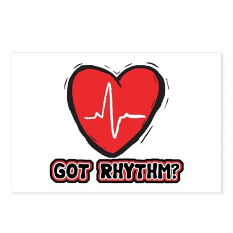 Got Cardiac Rythm? Postcards (Package of 8)