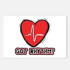 Got Cardiac Rythm? Postcards (Package of 8)