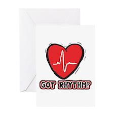 Got Cardiac Rythm? Greeting Card