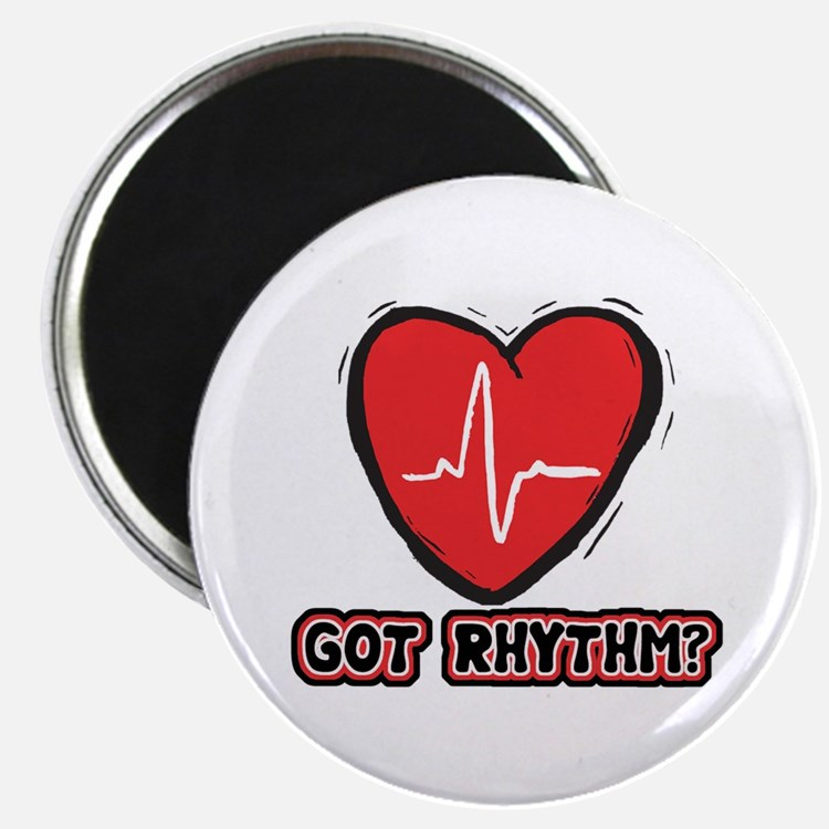 "Got Cardiac Rythm? 2.25"" Magnet (100 pack)"