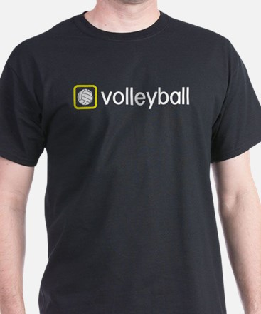 Volleyball (Yellow) T-Shirt