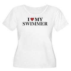 Love My Swimmer T-Shirt