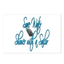 Shower with a Sailor Postcards (Package of 8)