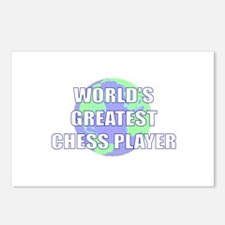 World's Greatest Chess Player Postcards (Package o