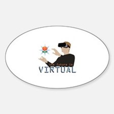 The Future Is Virtual Decal