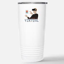 The Future Is Virtual Travel Mug