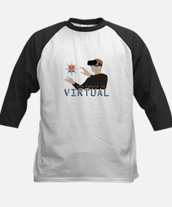 The Future Is Virtual Baseball Jersey
