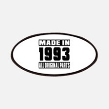 Made In 1993 Patch