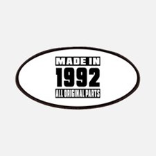 Made In 1992 Patch