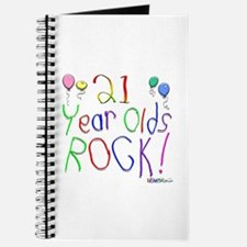21 Year Olds Rock ! Journal