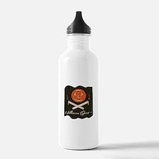 Halloween Spirit Flag Water Bottle