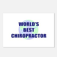 World's Best Chiropractor Postcards (Package of 8)