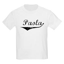 Paola Vintage (Black) T-Shirt