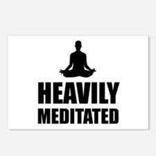 Heavily Meditated Postcards (Package of 8)