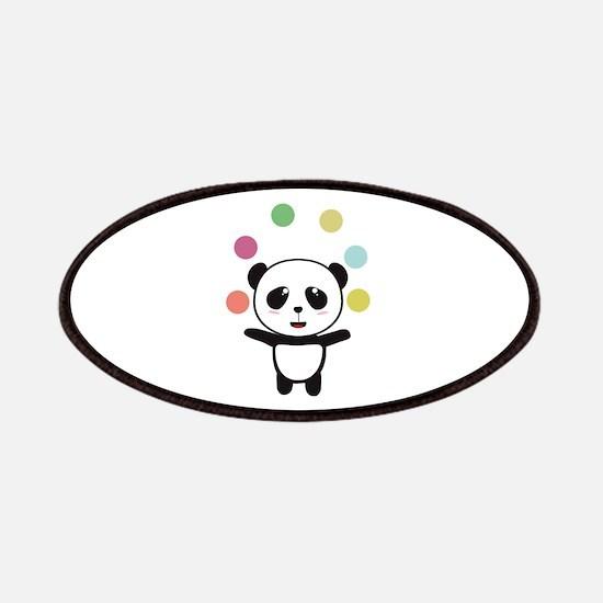 Juggling Circus Panda Patch