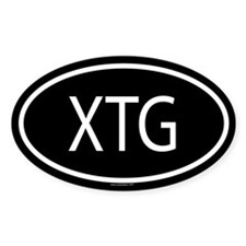 XTG Oval Decal