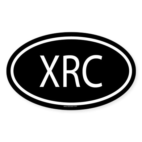 XRC Oval Sticker