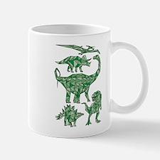 Geometric Dinosaurs Mugs