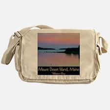Cute Mt desert island Messenger Bag