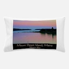 Mount Desert Island - Western Bay Pillow Case