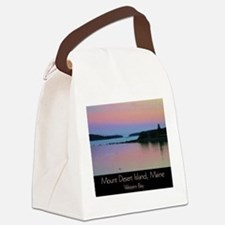 Mount Desert Island - Western Bay Canvas Lunch Bag