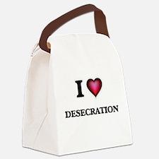 I love Desecration Canvas Lunch Bag