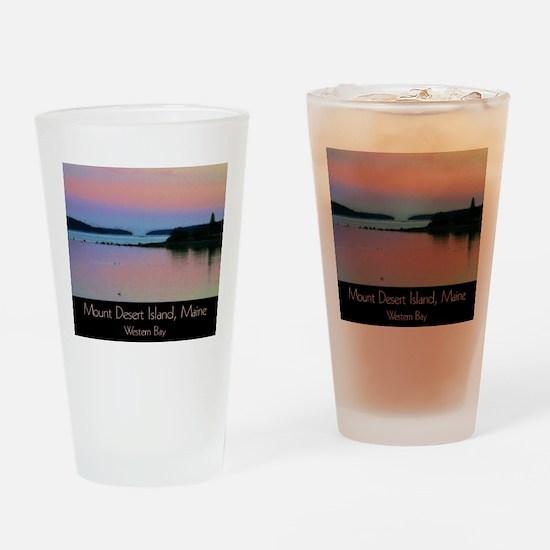 Mount Desert Island - Western Bay Drinking Glass