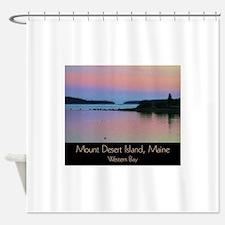 Mount Desert Island - Western Bay Shower Curtain