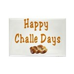 JEWISH HAPPY CHALLE HOLIDAYS Rectangle Magnet (10